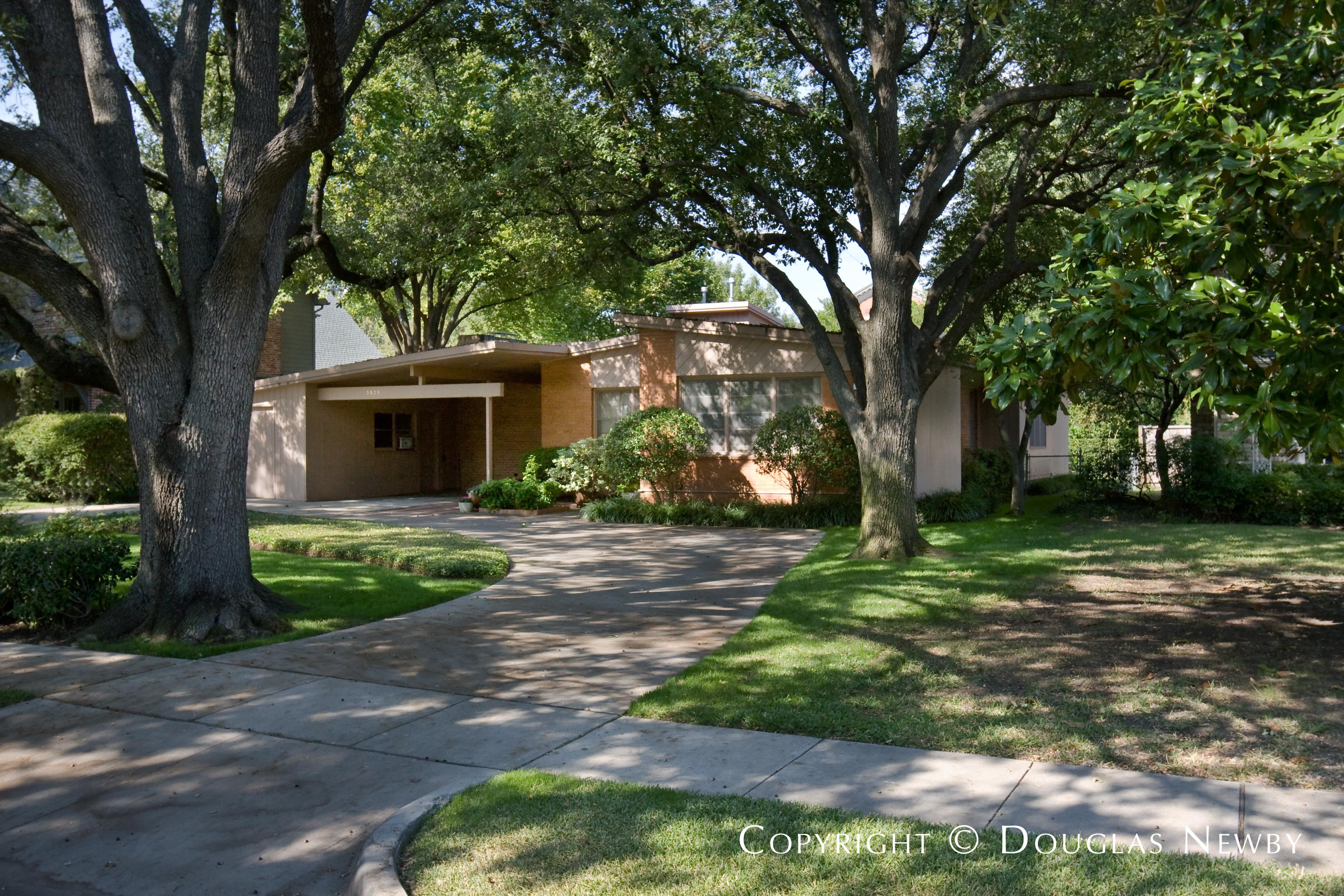 University Park Mid-Century Modern Home