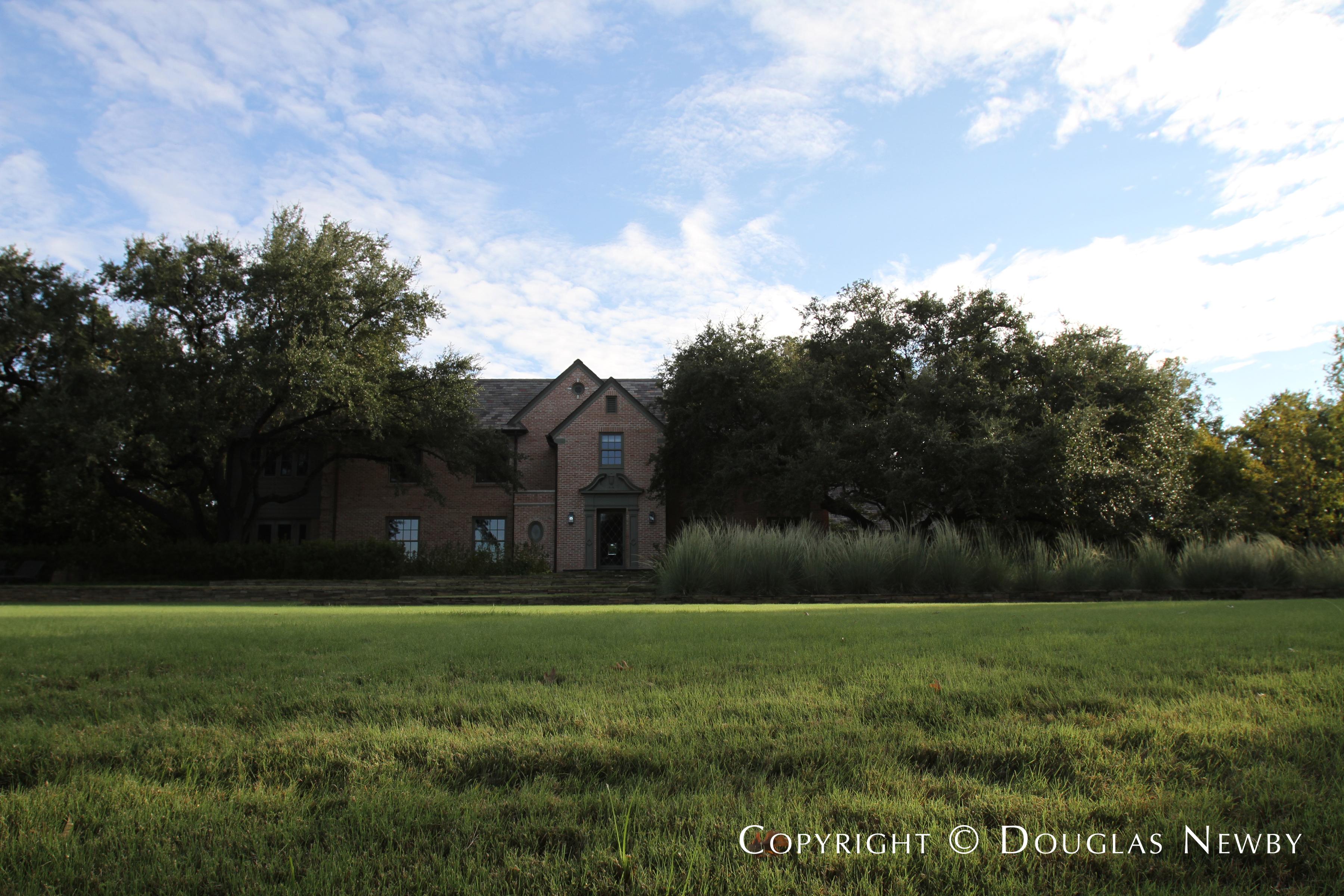 West Lawther Drive Neighborhood Home
