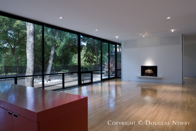 Bent Tree Modern Home sitting on 2.06 Acres