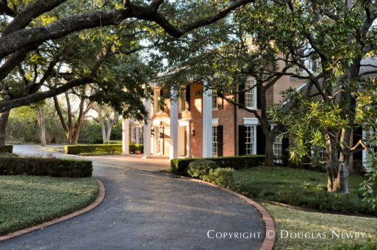 Architect John Astin Perkins Designed Estate Home in Preston Hollow