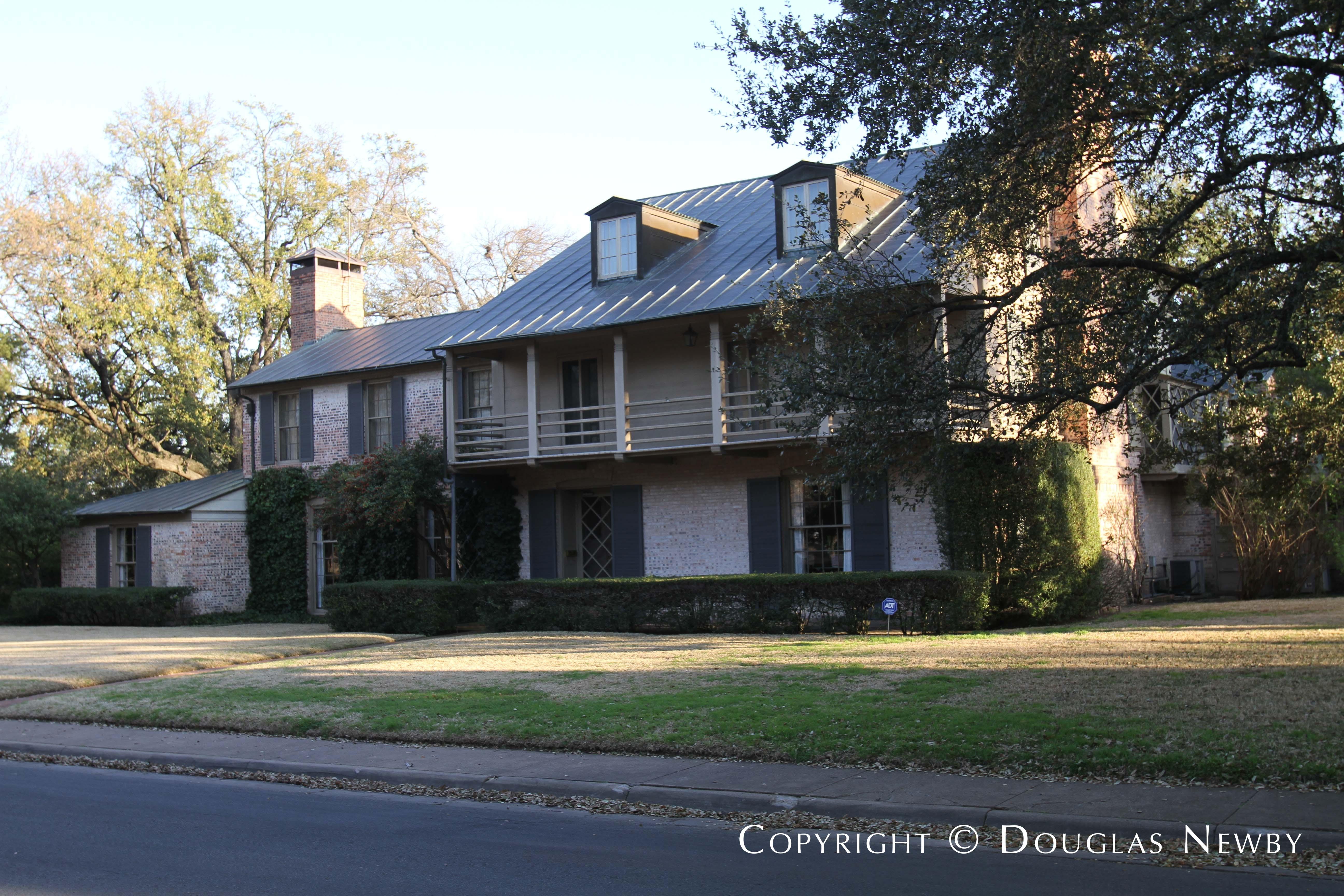 Architect David R. Williams Designed Texas Modern Home