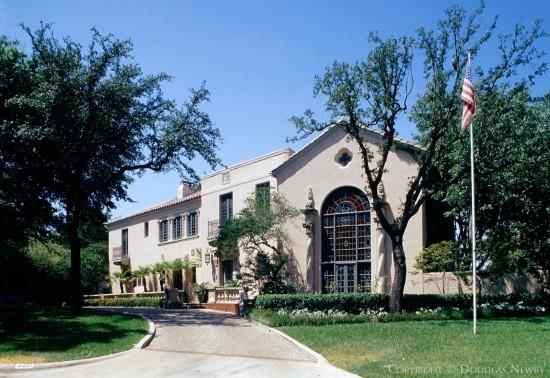 Moorish Estate Home Designed by Architect John Allen Boyle - 4321 Overhill Drive