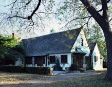 Significant Normandy Cottage House Designed by Architect Mark Lemmon - 3211 Mockingbird Lane