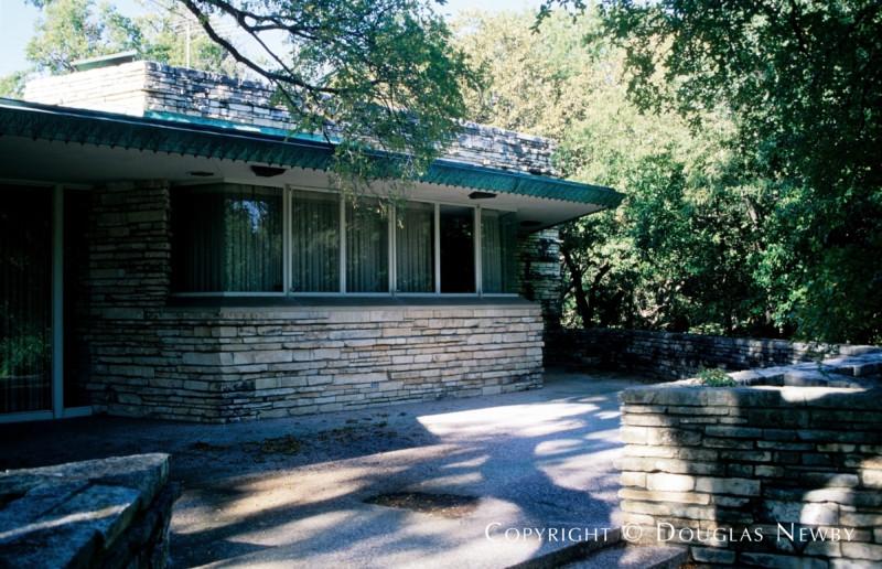 Architect Frank Lloyd Wright Designed Home in Preston Hollow