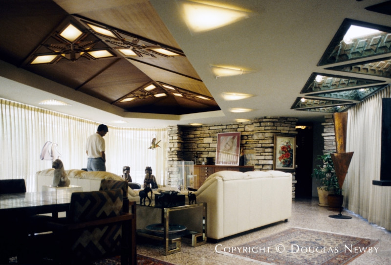 Architect Frank Lloyd Wright Designed Home