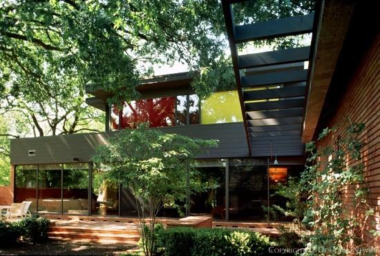 Mid century home at 5381 nakoma drive dallas texas for Mid century modern homes dallas