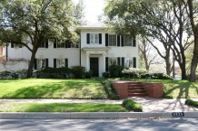 House Designed by Architect J.A. Pitzinger - 3825 Miramar Avenue