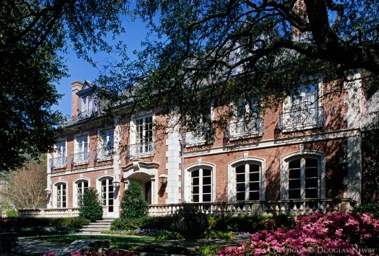 Significant French Eclectic Estate Home Designed by Architect Cole Smith - 4416 Lakeside Drive