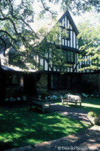 Significant Tudor Home Designed by Architect Anton Korn - 3635 Beverly Drive
