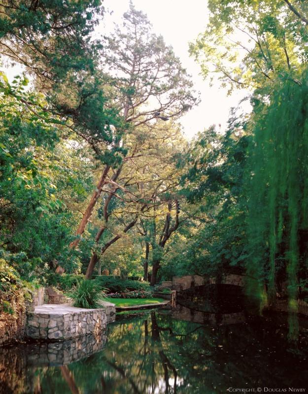 Henry B. Thomson Designed Home in Hackberry Creek Acreage of Old Highland Park