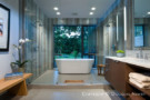 Master Bathroom in Labron Residence