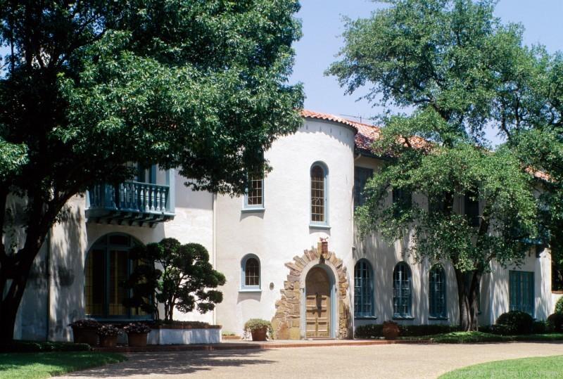 Dallas, Texas Spanish Colonial Revival Real Estate
