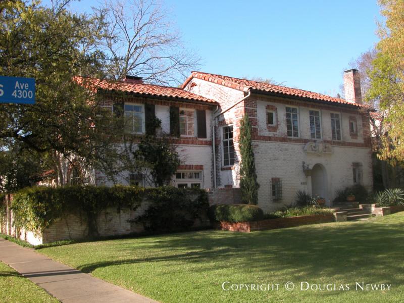 Highland Park Real Estate on 0.243 Acres