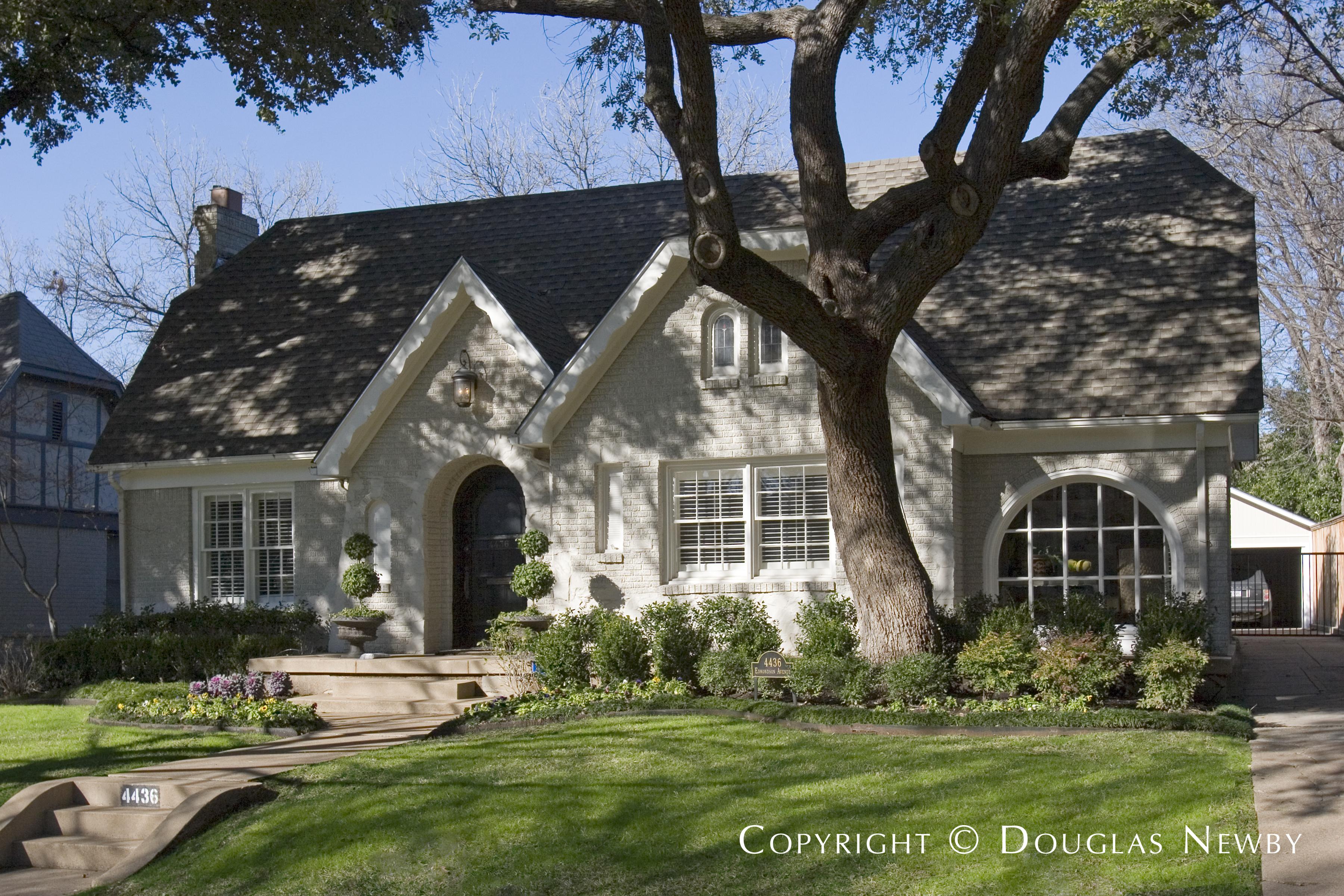 Architect Verne E. Shanklin Designed Home in Highland Park