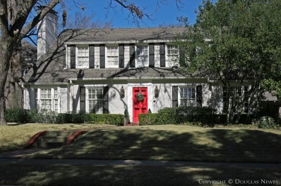 Home Designed by Architect Goodwin & Tatum - 4512 Lorraine Avenue