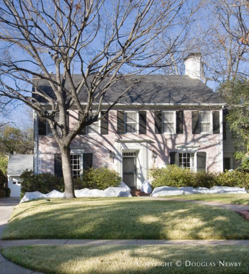 Home Designed by Architect Goodwin & Tatum - 4416 North Versailles Avenue