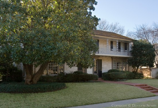Residence Designed by Architect James A. Russell - 4501 South Versailles Avenue