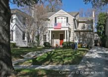 House Designed by Architect Charles A. Barnett - 4508 Arcady Avenue