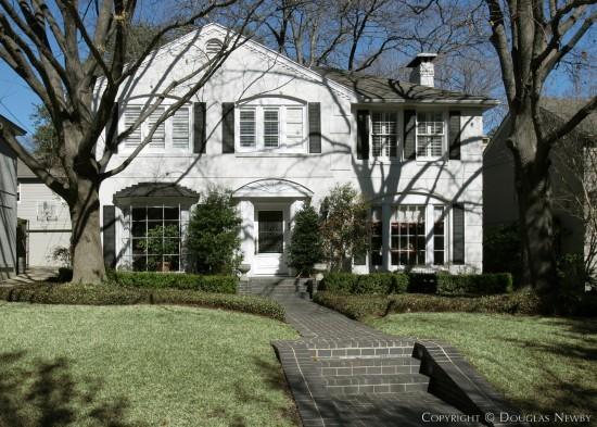 House Designed by Architect Charles A. Barnett - 4512 Arcady Avenue