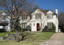 Residence Designed by Architect Charles A. Barnett - 4554 Arcady Avenue