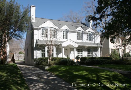 Home Designed by Architect Charles A. Barnett - 4556 Arcady Avenue
