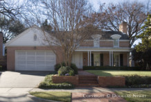 Home Designed by Architect Peyton G. Cooper - 4425 Belclaire Avenue