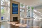 Living Room of Lionel Morrison, FAIA, Modern Home
