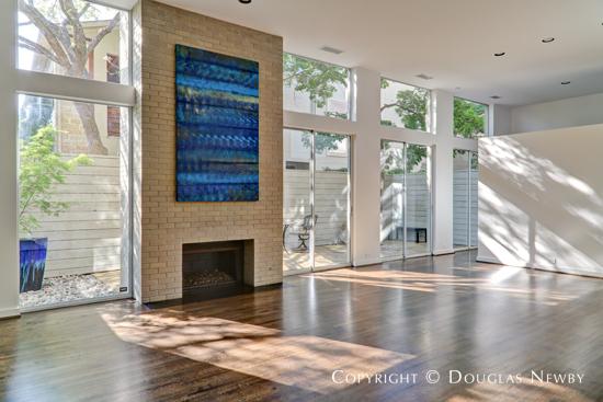 Lionel Morrison, FAIA, Designed Modern Home