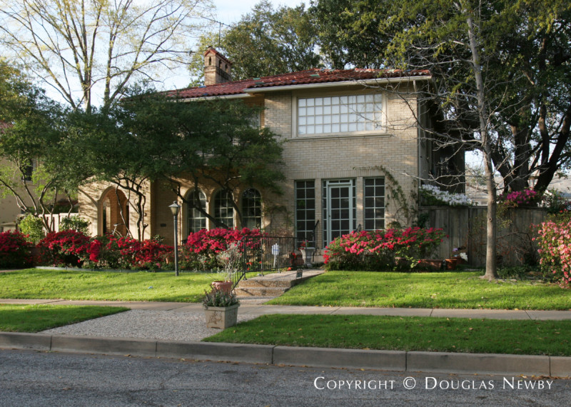 Linskie Witchell An Architectural Firm In Dallas Worked On Homes Some Of Which Are The Highland Park Neighborhood