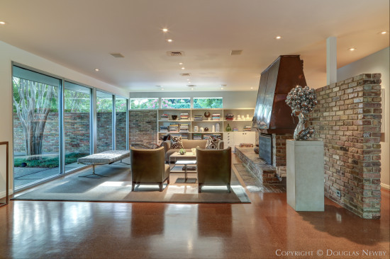 Greenway Parks Modern Home Designed by Hidell and Decker Architects and Renovated by Bodron+Fruit Architects