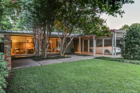 Dallas mid century modern homes modern homes dallas Mid century modern homes for sale houston