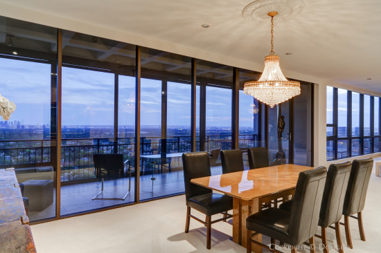 Preston Hollow Penthouse with Views in Three Directions