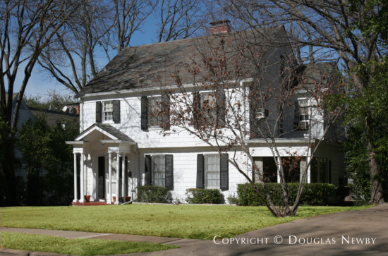 Home Designed by Architect Harre M. Bernet - 3920 Potomac Avenue