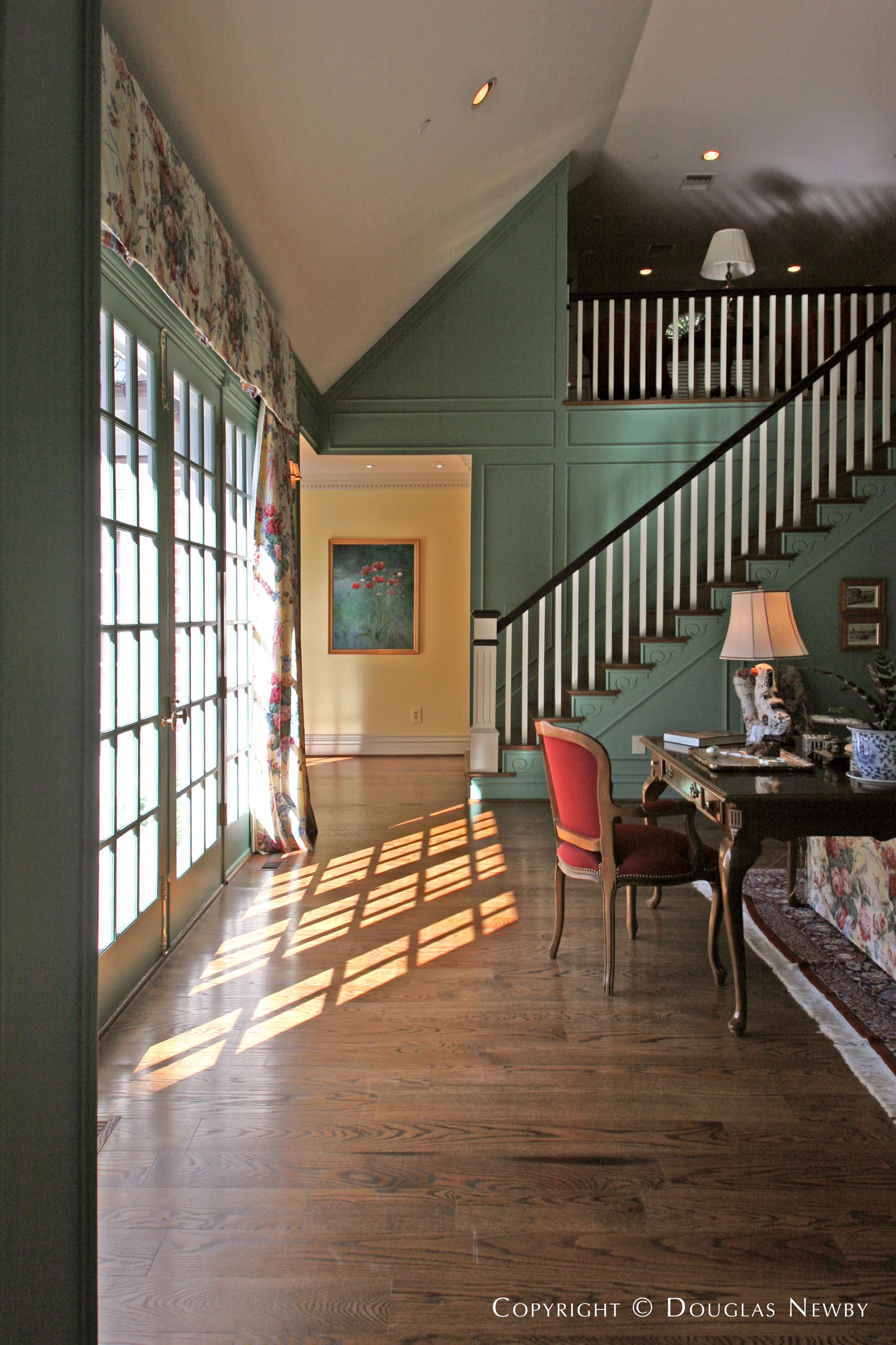 Preston Hollow Georgian Real Estate on 1.4 Acres