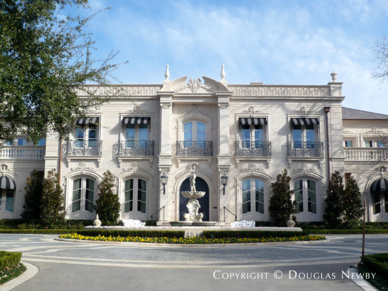 Architect Richard Drummond Davis Designed Large Dallas