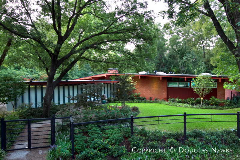 Midcentury Modern Home For Sale In Highland North Neighborhood 10306  Crittendon Drive, Dallas, Texas, 75229