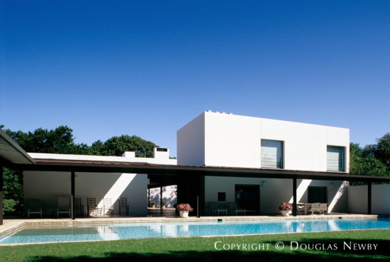 Significant Modern Estate Home Designed by Architect Edward Larrabee Barnes - 4608 Meadowood Road