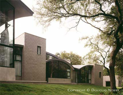 Significant Modern Estate Home Designed by Architect Steven Holl - 9839 Rockbrook Drive