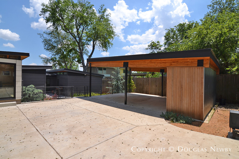 Carports Modern modern carport and storage photograph 34450