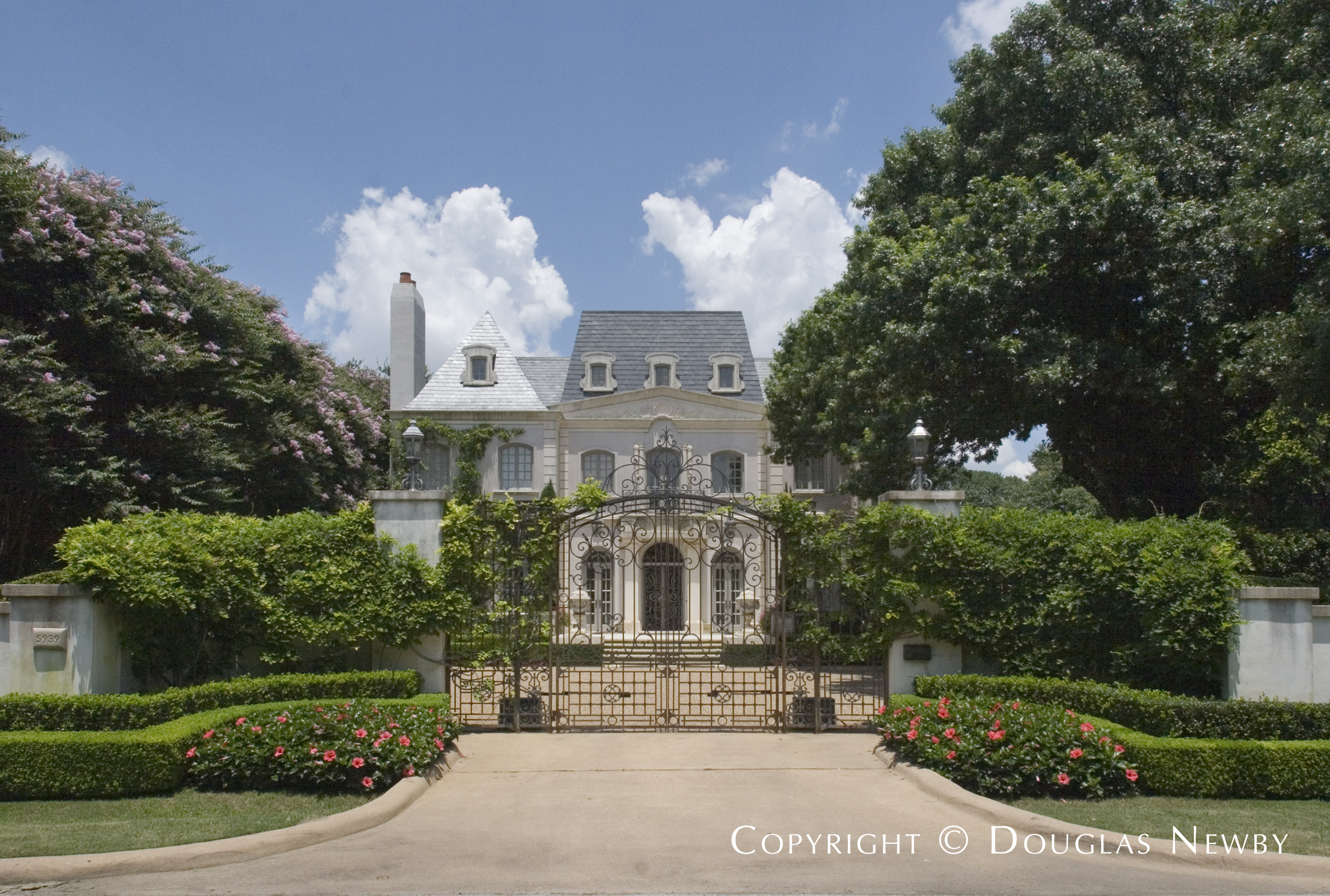Preston Hollow Home sitting on 0.96 Acres
