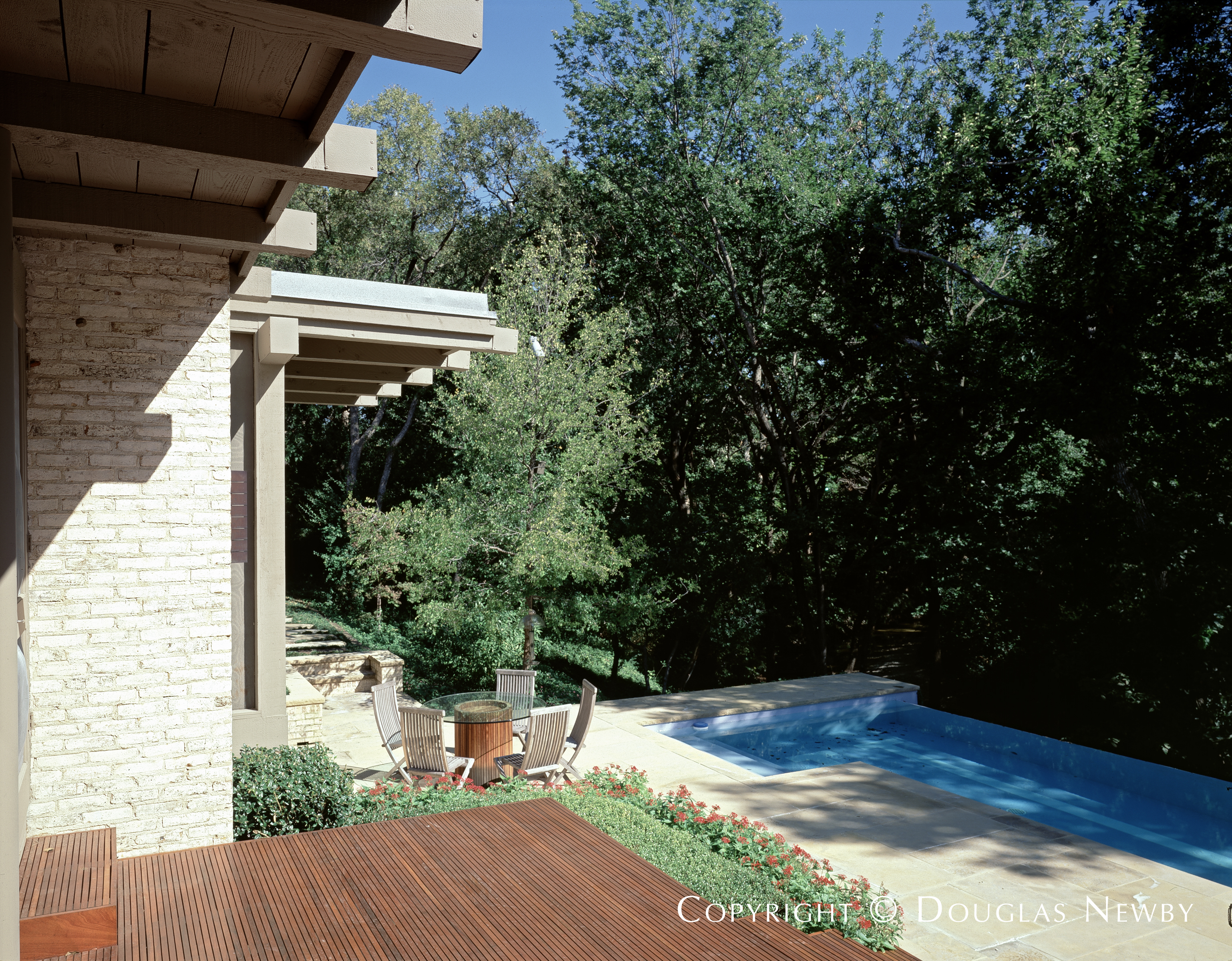 David George Texas Modern Home built in the 1980s
