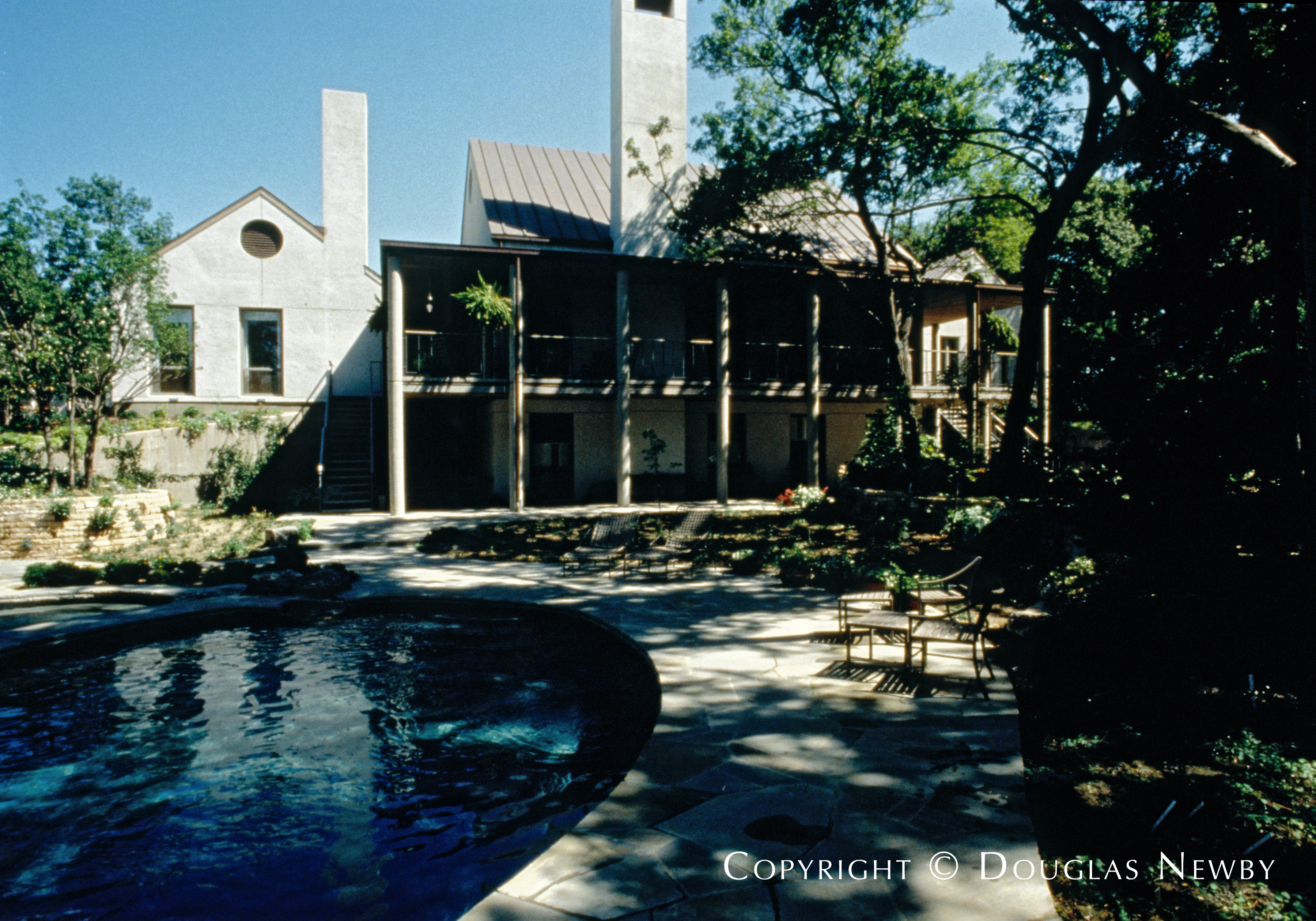 Architect Frank Welch Designed Home in Bluffview Area