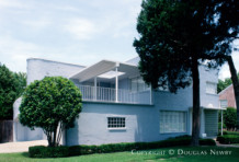 Art Moderne Home Designed by Architect Luther E. Sadler - 6851 Gaston Avenue