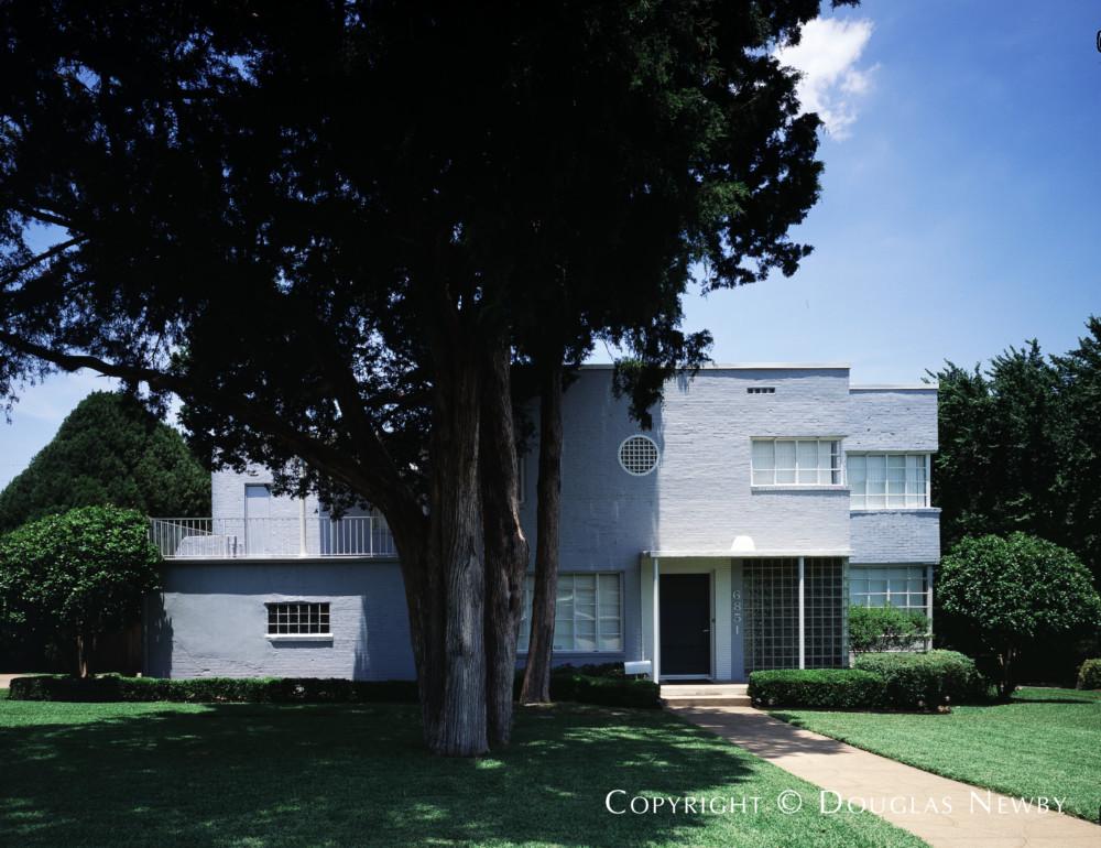 Luther E. Sadler Designed Art Moderne Home