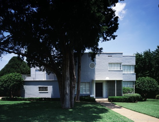 Luther E. Sadler Designed Art Moderne Home