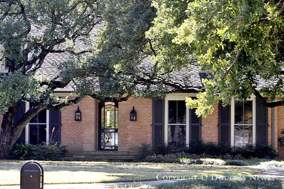 George Bush's Home in Dallas