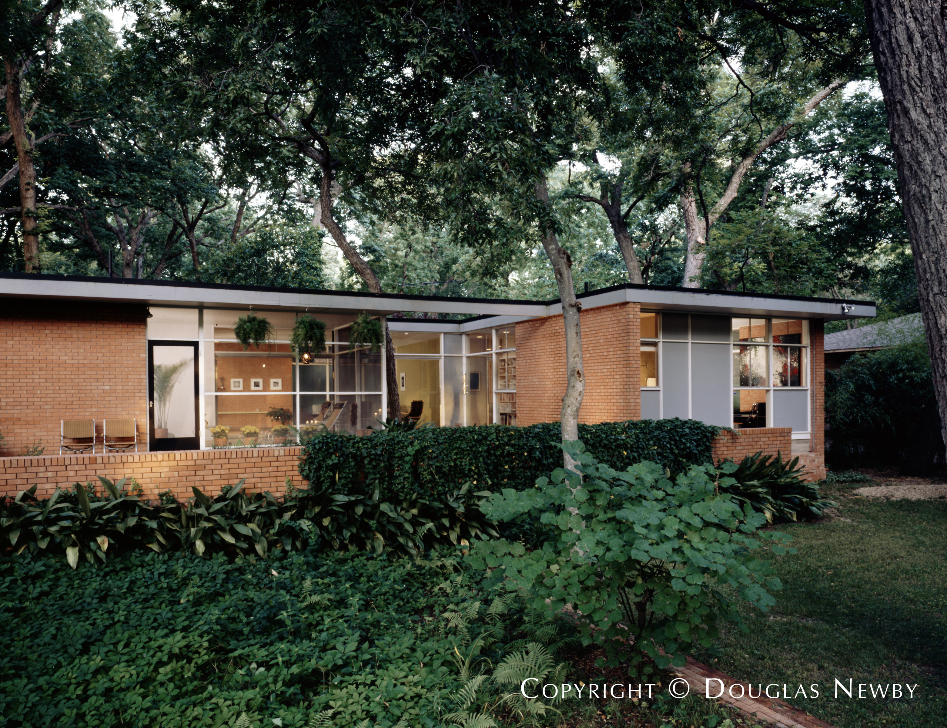 Glenn Allen Galaway Home built in the 1950s