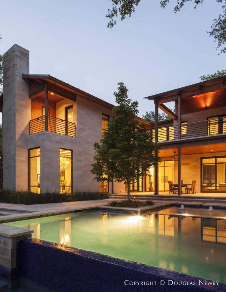 Modern Home in Preston Hollow