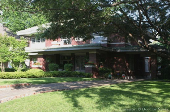 Residence Designed by Architect C.P. Sites - 4930 Swiss Avenue