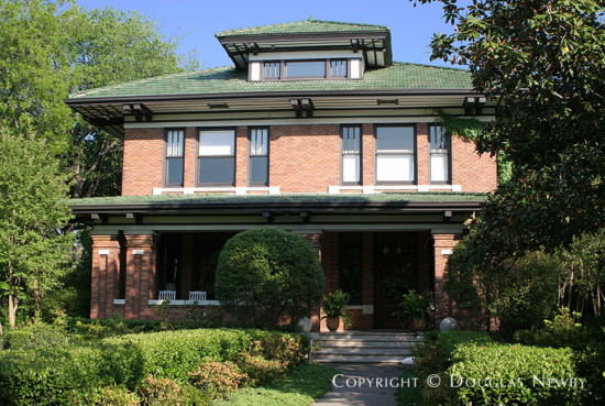 Residence Designed by Architect F.J. Woerner - 4946 Swiss Avenue